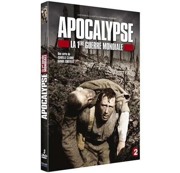 DVD apocalypse première guerre mondiale - 1914-1918