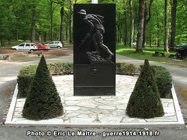 Stèle des Marines du bois de Belleau