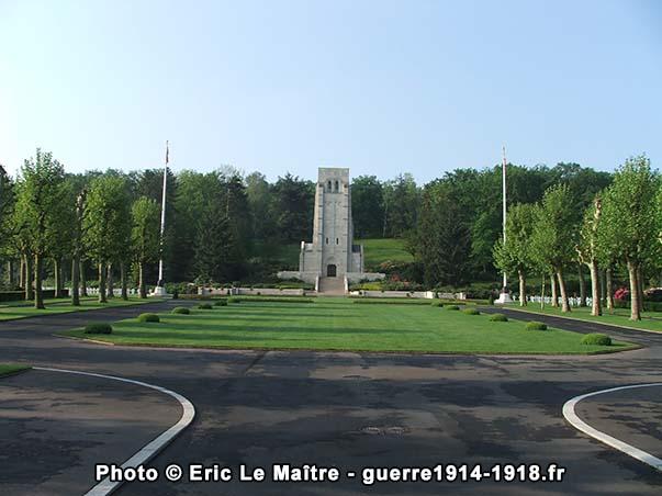 La chapelle du cimetière américain Aisne-Marne à Belleau
