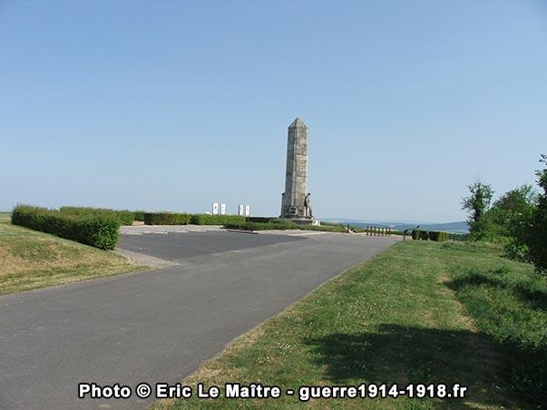 Vue générale du site du monument des Basques