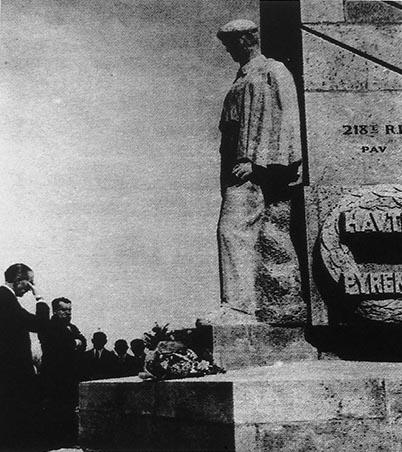Douleur et recueillement lors de l'inauguration du monument des Basques