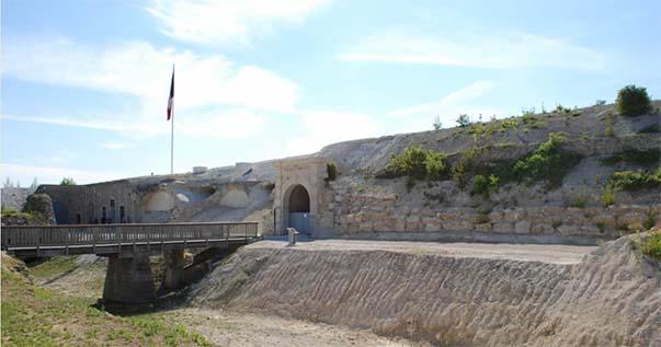 Le fort de la Pompelle en 2016