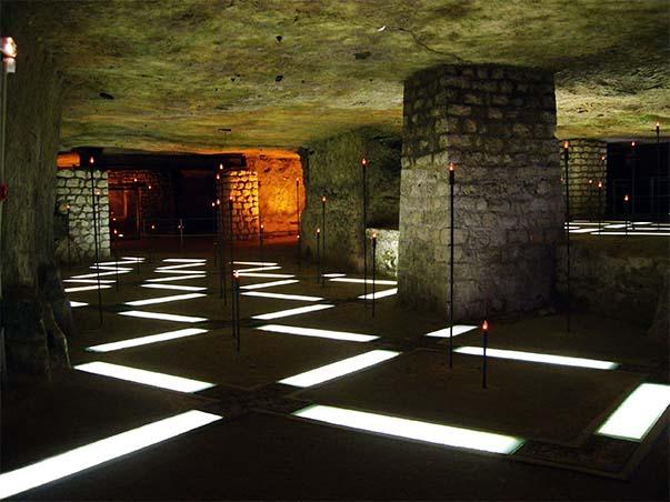 La Salle des Flambeaux de la Caverne du Dragon