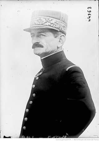 Portrait du général Mangin