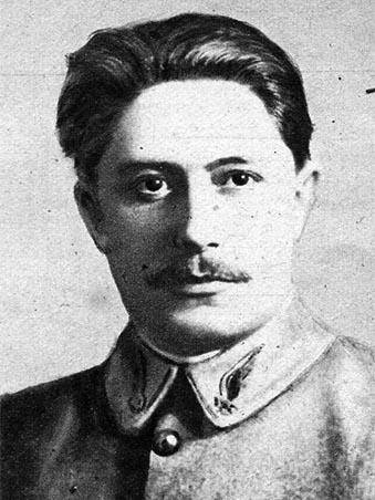 Photographie de 1917 du sous-lieutenant René Dorme