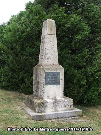 Monument aux morts du 60ème régiment d'infanterie