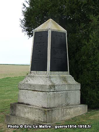 Monument aux morts du 44ème régiment d'infanterie