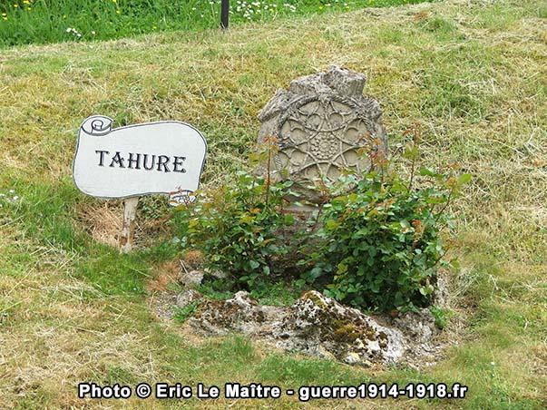 Vestige de l'église de Tahure à Sommepy-Tahure