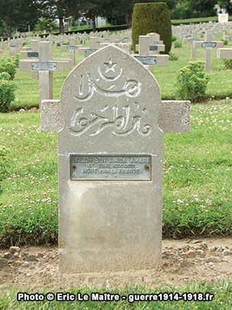 Tombe de Salah Ben Amida Amara du 8ème Tirailleurs Indochinois