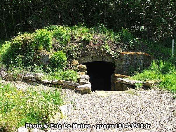 La cave qui servit de prison aux 6 condamnés