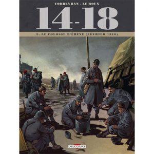 14-18 - Tome 05 - Le colosse d'ébène (février 1916) - Corbeyran & Leroux
