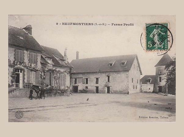 Photographie ancienne de la ferme proffit