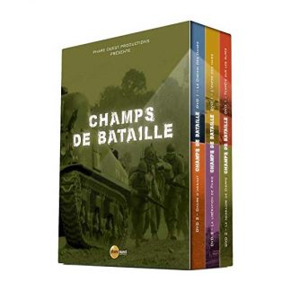 6 DVD de la série documentaire Champs de bataille