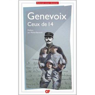 Ceux de 14 de Maurice Genevoix