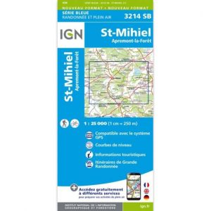 Carte IGN Saint-Mihiel