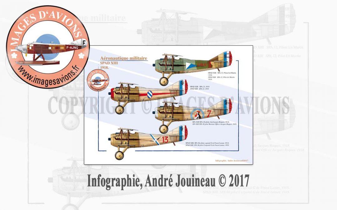 Profil d'avion 14-18 : le SPAD XIII, 1918