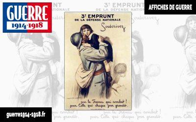 3ème emprunt de la défense nationale – «Pour la France qui combat ! Pour Celle qui chaque jour grandit»