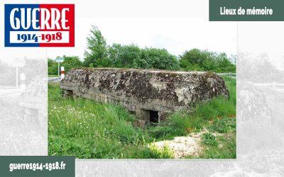 Le Blockhaus allemand de Navarin à Sommepy-Tahure (51-Marne)