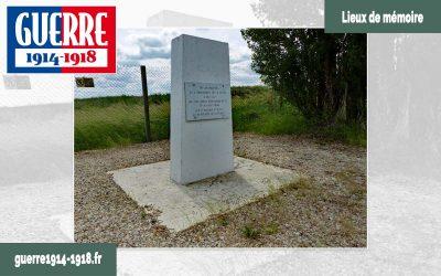 La stèle de la butte de la Saulorette (Monthyon – 77 – Seine-et-Marne)