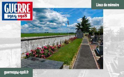 Carré militaire français du cimetière communal de Saint-Soupplets (77 – Seine-et-Marne)