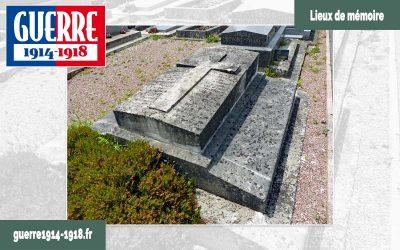 Caveau funéraire de la famille Caroly (Saint-Soupplets – 77 – Seine-et-Marne)