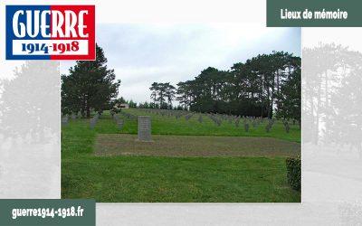 Le cimetière militaire allemand à Aubérive (51-Marne)