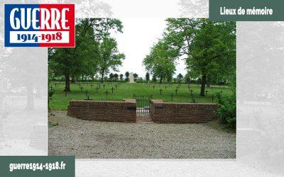 Le cimetière militaire allemand d'Aussonce (08-Ardennes)
