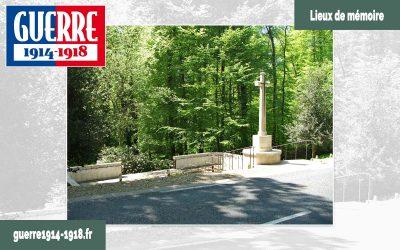 Le cimetière militaire britannique «Guards Grave» dans la forêt de Retz à Villers-Cotterêts (02)