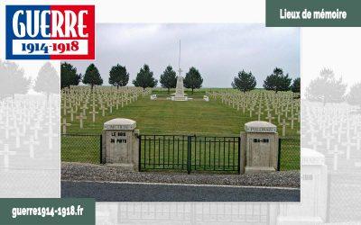 Le cimetière Militaire Polonais du Bois du Puits à Aubérive (51-Marne)