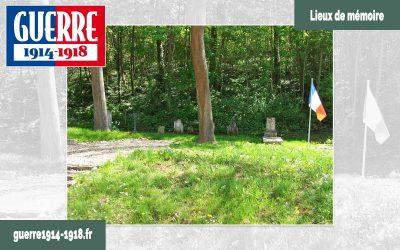 Le cimetière militaire temporaire de Nouvron-Vingré (02 – Aisne)
