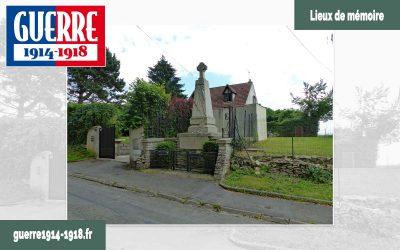 Le monument aux héros de la Marne à Iverny (77 – Seine-et-Marne)
