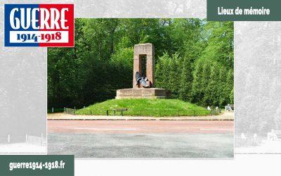 Le monument à l'armée française libératrice de l'Alsace-Lorraine (Compiègne – 60 – Oise)