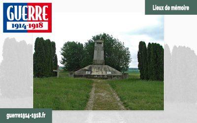 Le monument aux morts des 170ème et 174ème R.I. à Sommepy-Tahure (51-Marne)