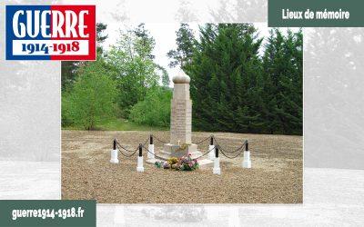 Le monument du 2ème régiment spécial russe à Saint-Hilaire-le-Grand (51-Marne)