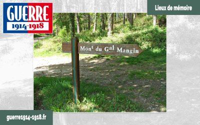 Le monument du Général Mangin à Puiseux-en-Retz (02-Aisne)