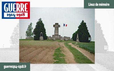 La nécropole nationale de la 28ème Brigade à Souain-Perthes-lès-Hurlus (51-Marne)