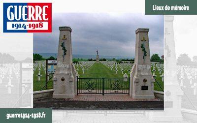 La nécropole nationale de Sillery (51-Marne)