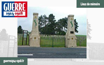 La nécropole nationale du Bois du Puits à Aubérive (51-Marne)