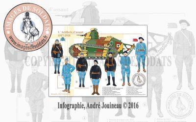 L'Artillerie d'assaut, 1917-1918