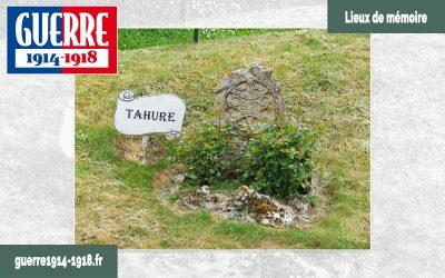 Les vestiges des villages détruits à Sommepy-Tahure (51-Marne)