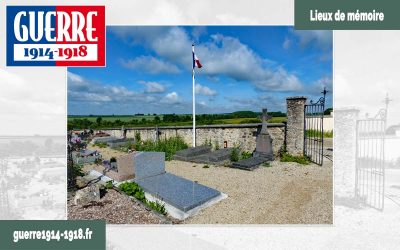 Tombes militaires de 1914 au cimetière de Chauconin-Neufmontiers (77 – Seine-et-Marne)