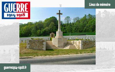 Vendresse British Cemetery 1914-1918 à Vendresse-Beaulne (02-Aisne)