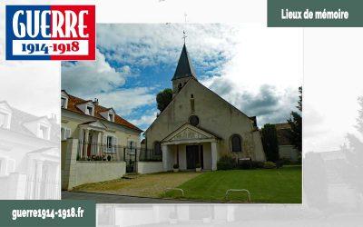 L'église Saint-Pierre-et-Saint-Denis et son pupitre «sur les traces de Charles Péguy» à Villeroy (77 – Seine-et-Marne)
