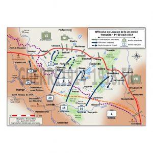 Offensive en Lorraine de la 2e armée française du 14 au 20 août 1914
