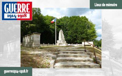 Le monument du lieutenant-colonel Driant et de ses chasseurs (Beaumont-en-Verdunois – 55 – Meuse)
