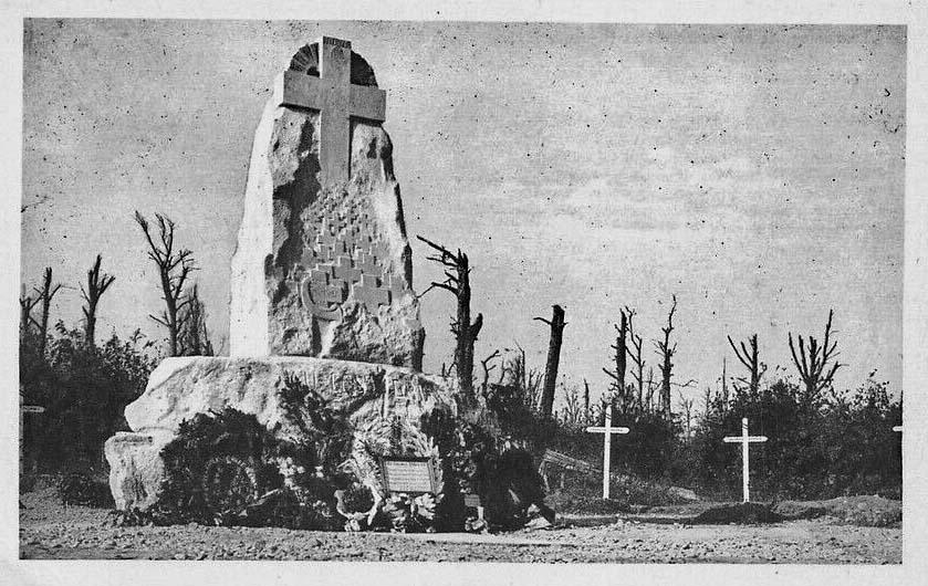 Monument Driant en 1922