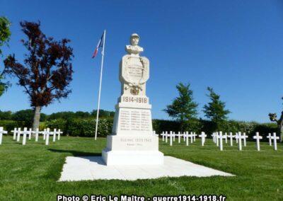 Cimetière militaire français de Montceaux-lès-Provins