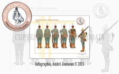 Équipement du soldat prussien, 1914